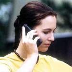 مكالمة هاتفية فتاة